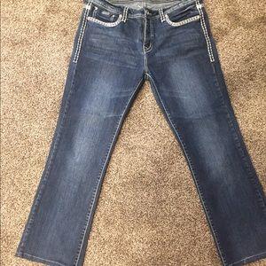 LA IDOL size 15 bling jeans